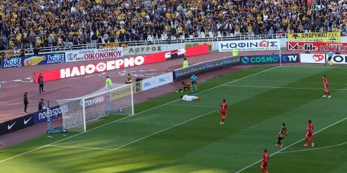 Ημιτελικός Κυπέλλου Ελλάδος ποδοσφαίρου μεταξύ ΑΕΚ - ΟΣΦΠ