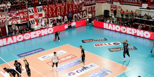 5ος τελικός Πρωταθλήματος βόλεϊ της volleyleague μεταξύ Ολυμπιακού - ΠΑΟΚ