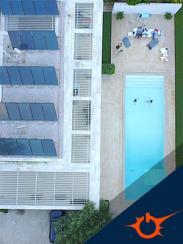 Ηλιακή  θέρμανση πισίνας