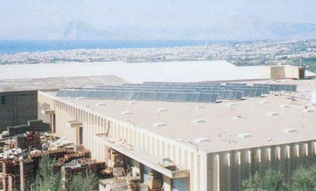 ACHAIA CLAUSS, Πάτρα – 1994. 15.000lt. Επίπεδοι συλλέκτες 300m².