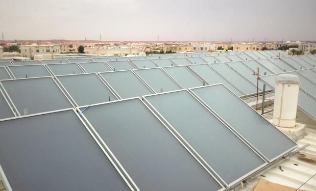 FUTURE SCHOOLS, Alain, UAE – 2012. 15.000lt. Επιλεκτικοί συλλέκτες  540m².