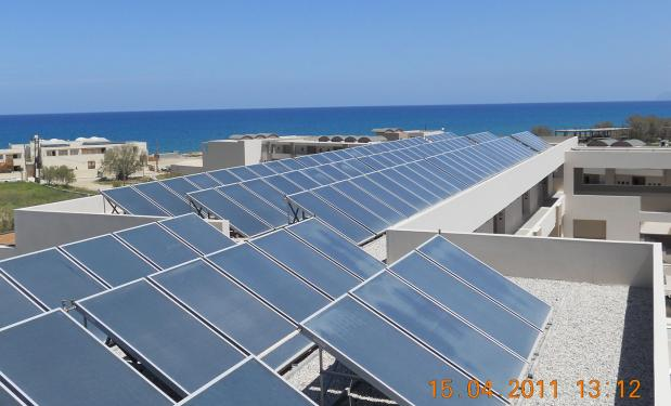 KOLYMBARI BEACH HOTEL, Κρήτη – 2010. 15.000lt. Επιλεκτικοί συλλέκτες 243m².