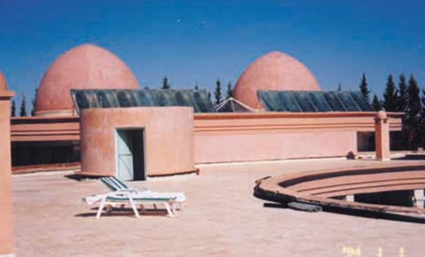 RHOUL PALACE HOTEL, Morocco - 1999. 1500LTR. Ηλιακά Συστήματα Compact.