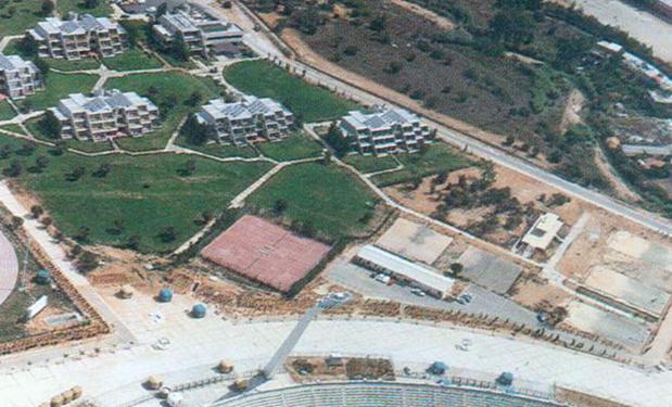 ΟΛΥΜΠΙΑΚΟ ΣΤΑΔΙΟ, Αθήνα – 1981. 25.000ltr. Επίπεδοι συλλέκτες 500m².